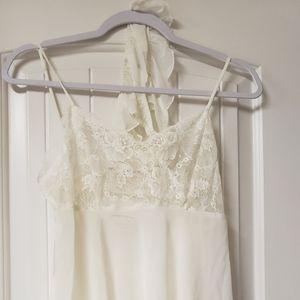 Victoria's Secret short night gown Ivory